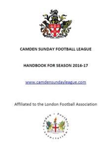 Camden Sunday Football League Handbook