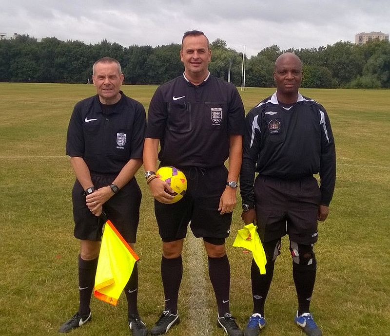 Camden Sunday League Presidents Cup Officials