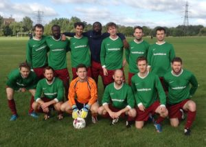 Auld Shillelagh - Camden Sunday Football League