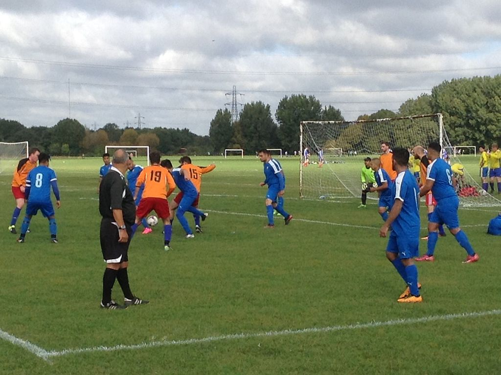 Philippine FC v Hurricanes FC - Challenge Cup - Camden Sunday League