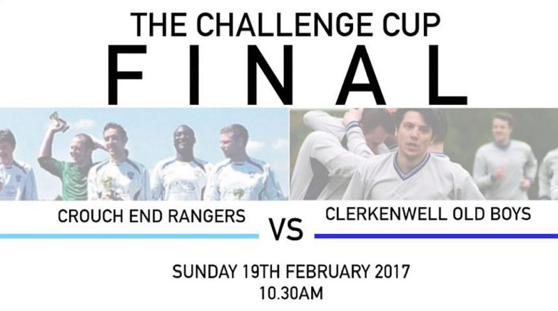 2016-17 Challenge Cup Final - Camden Sunday Football League