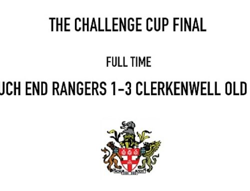 Clerkenwell Old Boys win the Challenge Cup for 2016-17 Season