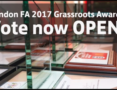 CSFL Chairman nominated for London FA Grassroots Award